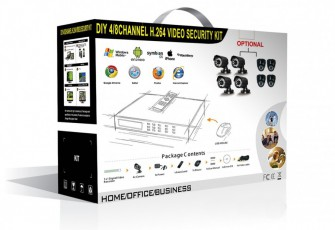 CoVi Security NVK-3002 POE MINI KIT